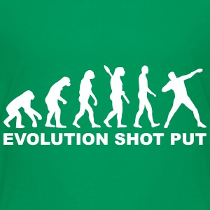 Evolution Shot put Kids' Shirts - Kids' Premium T-Shirt