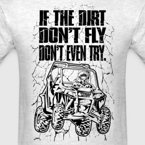 UTV Racer Dirt Fly T-Shirts - Men's T-Shirt
