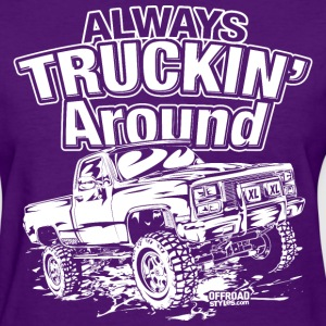 Truckin Around White Women's T-Shirts - Women's T-Shirt