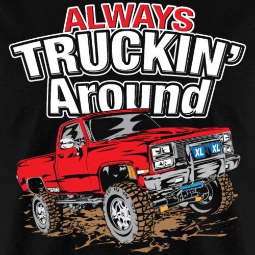 Chevy Truckin Around Red