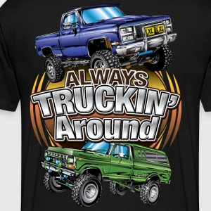 Chevy Truckin Around T-Shirts - Men's Premium T-Shirt