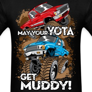 Toyota Trucks Get Muddy T-Shirts - Men's T-Shirt