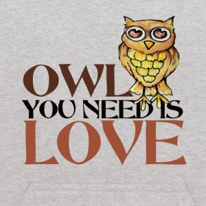 OWL you need is LOVE - Kids' Hoodie