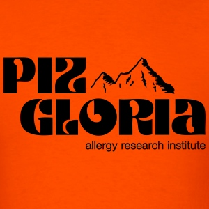 Piz Gloria - allergy research institute - Men's T-Shirt