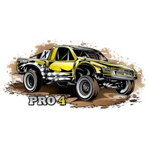 Pro4 Race Truck Yellow