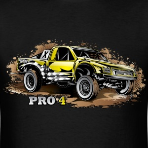 Pro4 Race Truck Yellow T-Shirts - Men's T-Shirt