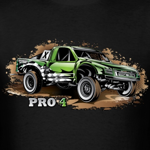 Pro4 Race Truck Green