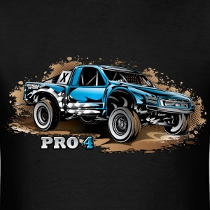 Pro4 Race Truck Blue T-Shirts - Men's T-Shirt