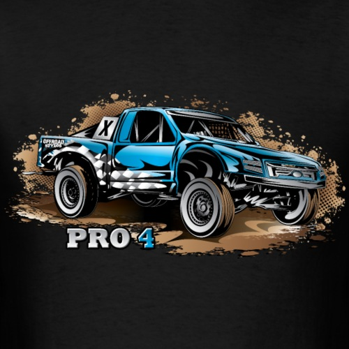 Pro4 Race Truck Blue