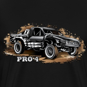 Pro4 Trophy Truck Black T-Shirts - Men's Premium T-Shirt