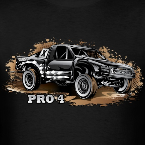 Pro4 Trophy Truck Black