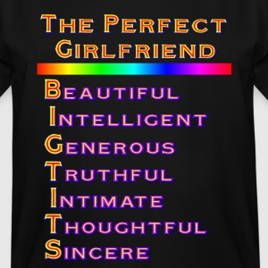 THE PERFECT GIRLFRIEND - Men's Tall T-Shirt