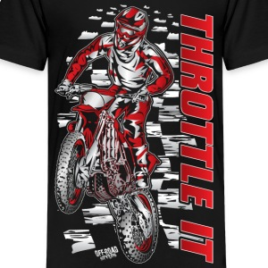 Motocross Throttle It Honda Kids' Shirts - Kids' Premium T-Shirt