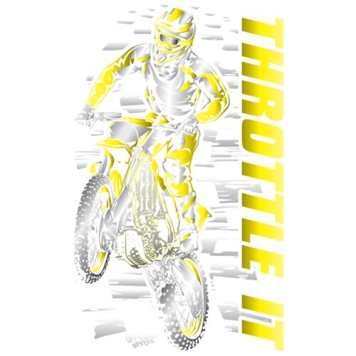 Motocross Throttle It Yel