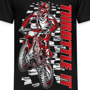 Motocross Throttle It Honda Baby & Toddler Shirts - Toddler Premium T-Shirt