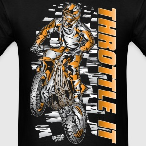 Motocross Throttle It Org T-Shirts - Men's T-Shirt