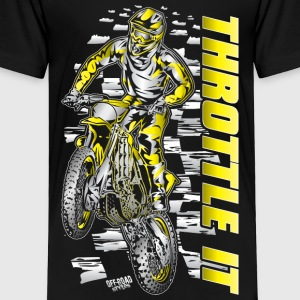 Motocross Throttle It Suzuki Baby & Toddler Shirts - Toddler Premium T-Shirt
