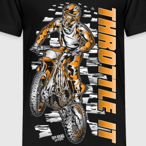 Motocross Throttle It Org Baby & Toddler Shirts - Toddler Premium T-Shirt
