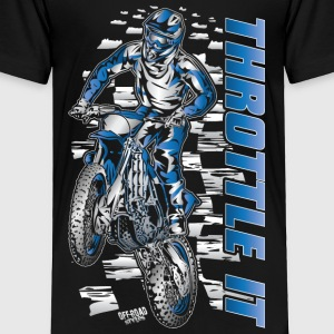 Motocross Throttle It Yamaha Baby & Toddler Shirts - Toddler Premium T-Shirt