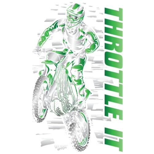 Motocross Throttle It Gre