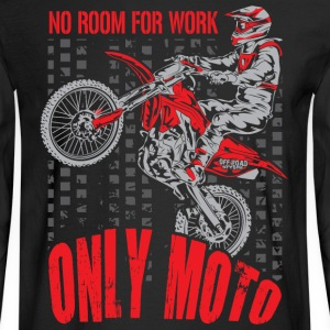Dirt Bike Only Moto Honda Long Sleeve Shirts - Men's Long Sleeve T-Shirt