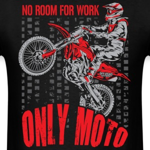 Dirt Bike Only Moto Honda T-Shirts - Men's T-Shirt