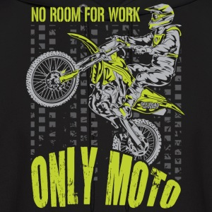Motocross Only Moto Kawasaki Hoodies - Men's Hoodie
