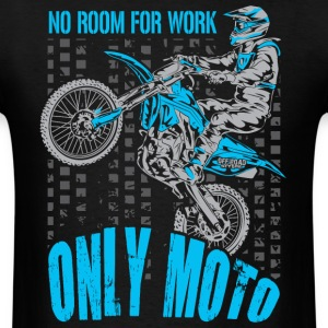 Dirt Biker Only Moto Yamaha T-Shirts - Men's T-Shirt