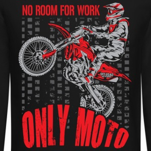Dirt Bike Only Moto Honda Long Sleeve Shirts - Crewneck Sweatshirt