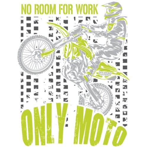 Motocross Only Moto Green