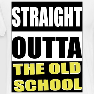 Straight outta The Old Shool - Men's Premium T-Shirt