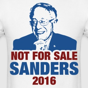 Not For Sale Sanders 2016 T-Shirts - Men's T-Shirt