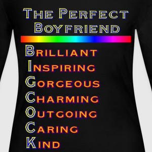 THE PERFECT BOYFRIEND - Women's Long Sleeve Jersey T-Shirt