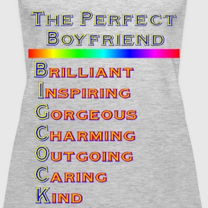 THE PERFECT BOYFRIEND - Women's Premium Tank Top