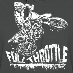 Dirt Biker Full Throttle Hoodies