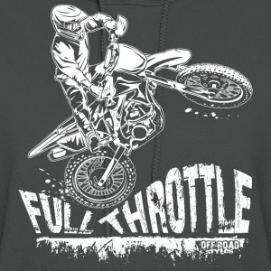 Dirt Biker Full Throttle Hoodies - Women's Hoodie