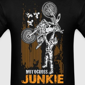 Motocross Junkie T-Shirts - Men's T-Shirt