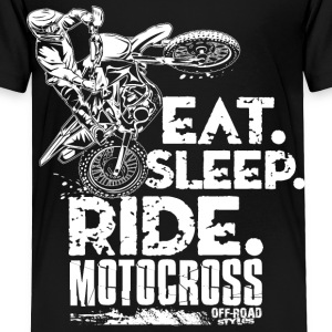 Dirt Bike Eat Sleep Ride Baby & Toddler Shirts - Toddler Premium T-Shirt