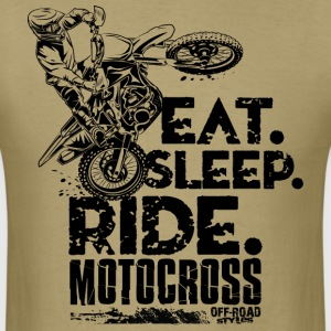 Motocross Eat Sleep Ride T-Shirts - Men's T-Shirt