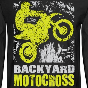 Backyard Motocross Kawasaki Long Sleeve Shirts - Men's Long Sleeve T-Shirt