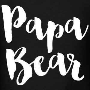 Papa Bear T-Shirts - Men's T-Shirt