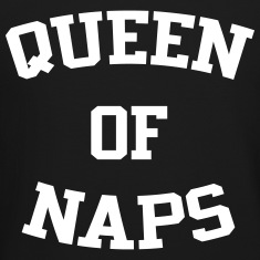Queen Of Naps Long Sleeve Shirts