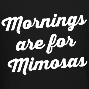 Mornings Are For Mimosas Long Sleeve Shirts - Crewneck Sweatshirt