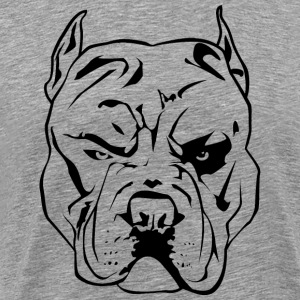 Angry Pitbull - Men's Premium T-Shirt