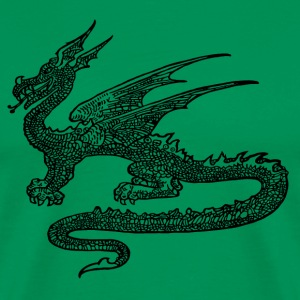 Dragon print Shirt - Men's Premium T-Shirt