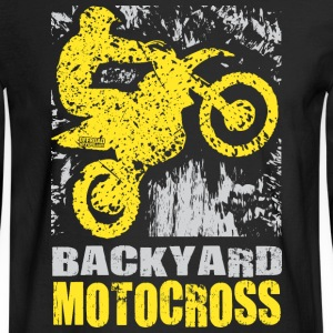Backyard Motocross Suzuki Long Sleeve Shirts - Men's Long Sleeve T-Shirt