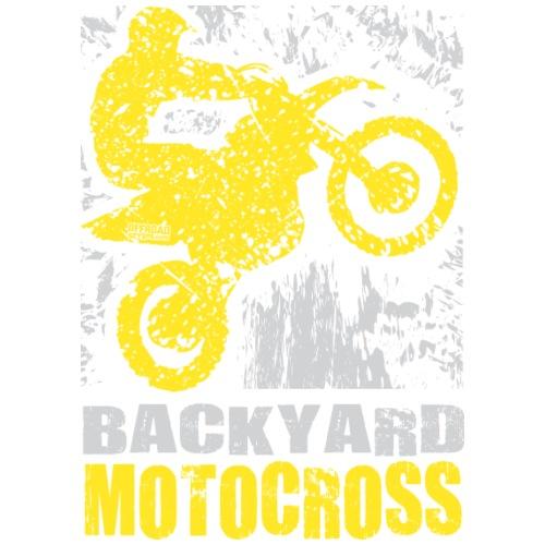 Backyard Motocross Yellow