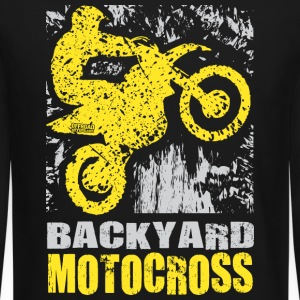 Backyard Motocross Suzuki Long Sleeve Shirts - Crewneck Sweatshirt