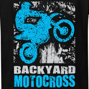 Backyard Motocross Yamaha Kids' Shirts - Kids' T-Shirt