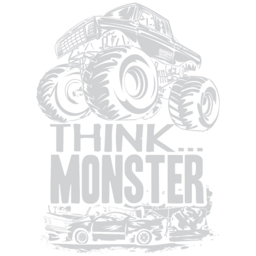 Think Monster Truck Grey